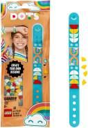 LEGO 41900 DOTS Regenbogen Armband Bastelset für individuelle Schmuck-Designs