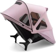 Bugaboo Fox/Cameleon Sonnendach Mit Lüftungsfenstern, Soft Pink