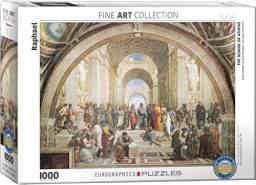 EuroGraphics Puzzle Die Schule von Athen von Raffael