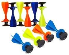 BestSaller Petron Fun Dart Pfeile mit Saugnapf, Zubehör für Armbrust (Farbe zufällig, 10 Stück)