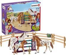 Schleich 42433 Horse Club Spielset - Horse Club Lisas Turnier-Training, Spielzeug ab 5 Jahren