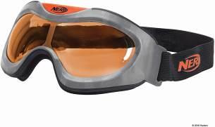 Nerf Elite Battlebrille Orange11559 hochwertige Brille mit größenverstellbaren Riemen im sytlischen Nerf Elite Design, für actionreichen Spielspaß
