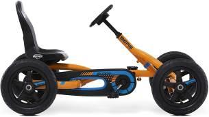 Berg Pedal Gokart Buddy B-Orange | Kinderfahrzeug, Tretauto mit Optimale Sicherheid, Luftreifen und Freilauf, Kinderspielzeug geeignet für Kinder im Alter von 3-8 Jahren