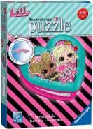 Ravensburger 3D Puzzle 11164 - Herzschatulle - LOL - 54 Teile