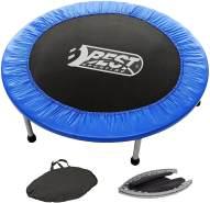 Best Sporting Fitness-Trampolin Indoor faltbar mit Tasche, blau-schwarz, Ø 96 cm