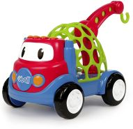 Bright Starts, Oball Go Grippers Spielzeug Abschleppwagen aus flexiblem, robustem und leicht greifbarem Material, mit Hebebühne