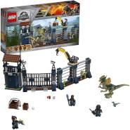 LEGO Jurassic World 75931 Angriff des Dilophosaurus, Dinosaurier-Set, Kinderspielzeug
