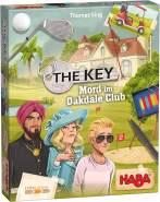 HABA 305610 - The Key – Mord im Oakdale Club, detektivisches Krimi-Spiel für 1–4 Spieler ab 8 Jahren, Familienspiel mit umfangreichem Spielmaterial und Lösungskontrolle