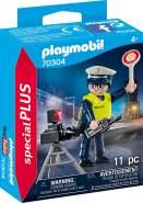 PLAYMOBIL Special Plus 70304 Polizist mit Radarfalle, ab 4 Jahren