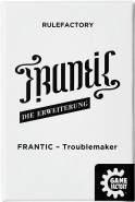 """GAMEFACTORY 646238 Frantic-Troublemaker""""Die Erweiterung"""" Spielerweiterung, schwarz, weiß"""