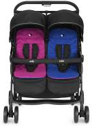 Joie - Zwillingsbuggy Aire Twin - Rosy und Sea (Kollektion 2019)