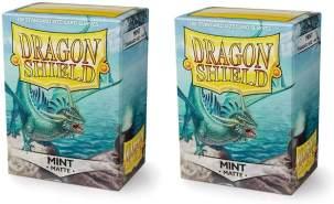 Arcane Tinmen ApS ART11025 - Dragon Shield Matte: Mint, 100 Stück
