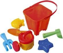 Fashy Pool- & Strandspielzeug-Set, mehrfarbig, 8504