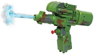 2-in-1 Wasserpistole/Tank grün 25 cm