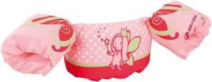 Sevylor Schwimmflügel Puddle Jumper, für Kinder und Kleinkinder von 2-6 Jahre, 15-30kg, Schwimmscheiben, pink rot, Fee