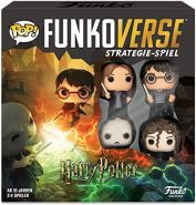 Funko 43477 Harry Potter 100 Funkoverse (4 Charaktere Pack) Brettspiel, Multi Colour