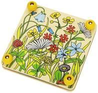 Goki 58603 Blumenpresse Frühlingswiese
