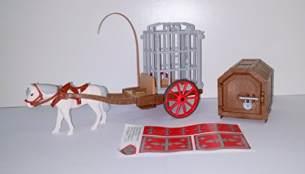 Playmobil 6376 Pferd mit Anhänger