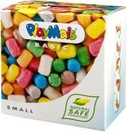 PlayMais BASIC Small Bastel-Set für Kinder ab 3 Jahren | Über 150 bunte PlayMais zum Basteln | Natürliches Spielzeug | Fördert Kreativität & Motorik | Geschenk für Mädchen & Jungen
