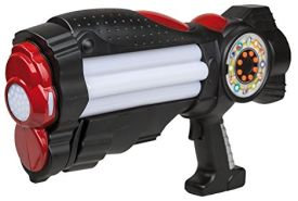 Idena 40414 - Space Pistole mit Licht und Sound, ca. 37 cm