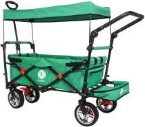 Miweba faltbarer Bollerwagen Grün