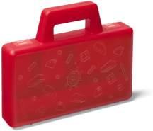 Room Copenhagen 'LEGO Sortierbox to go' Aufbewahrungsbox rot