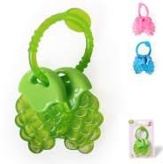Cangaroo Beißring Traube T2215, BPA-frei, Kühlbeißring Zahnungshilfe ab 3 Monate grün