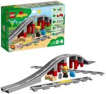 LEGO Duplo 10872 'Eisenbahnbrücke und Schienen', 26 Teile, ab 2 Jahren