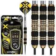 WINMAU Xtreme2-21 Gram Brass Dartpfeile Set mit Flights und Schäfte
