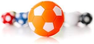 WINSPEED KICKERBALL by Robertson 35mm 10er Set (orange-weiß)