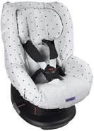 Auto-Kindersitzbezug Gruppe 1 / Hellgraue Kronen