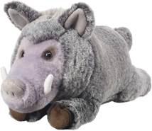 """Bauer Spielwaren """"Deine Tiere mit Herz"""" Wildschwein stehend: Tolles Kuscheltier zum Kuscheln und Liebhaben, ideal als Geschenk, 31 cm, grau (12527)"""