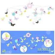 djeco Djeco Mobile Schmetterlinge & Blüten