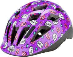 ABUS Fahrradhelm Smooty 2. 0 - purple kisses - 45-50 cm