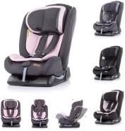 Chipolino Kindersitz Corso Gruppe 0+/1/2/3 (0 - 36 kg), 5-Punkt-Gurt, 3D-Pad rosa