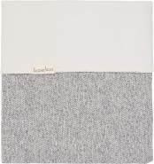 Koeka Bettdecke Flanell Für Baby-/kinderbett Vigo Sparkle Grey/pebble 100x150