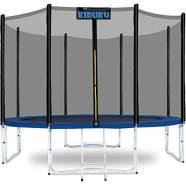 KIDUKU® Trampolin 305 cm Gartentrampolin Kindertrampolin Outdoor Komplettset Netz Leiter