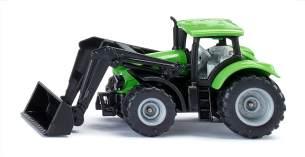 Siku 1394 Deutz Traktor mit Frontlader grün (Blister)