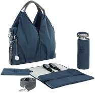 LÄSSIG Wickeltasche Blau inkl. Wickelzubehör, nachhaltig