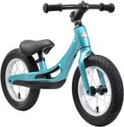 BIKESTAR Magnesium (superleicht) Kinderlaufrad Lauflernrad Kinderrad für Jungen und Mädchen ab 3 - 4 Jahre | 12 Zoll Kinder Laufrad Cruiser Ultraleicht | Türkis | Risikofrei Testen