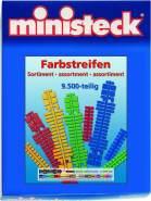 Ministeck 31661 - Farbstreifen-Sortiment, ca. 9.500 Teile