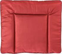 Ideenreich 2460 Wickelauflage Lederoptik (Metallic) Abwaschbar 75cm x 85cm, Rot