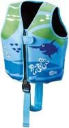 Beco 'Sealife' Schwimmweste blau/grün - Größe M für Kinder von 3-6 Jahren und 18-30 kg