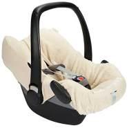 Koeka - Babyschalenbezug 3/5-Punktgurt - Runa - Bezug Für Autositz 0+ - 3/5-Punktgurt - Abwaschbar - Gestricktem Jerseyjacquard - Grün - Einheitsgröße