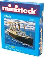 Titanic, Steckplatten, ca. 8100 Steine und Zubehör