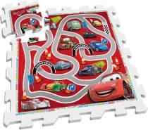 Disney Bodenpuzzle Cars rot / weiß 9-teilig