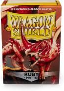 Dragon Shield 11037 Matte Sleeves Kartenhhüllen, Ruby