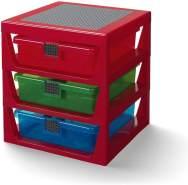 Room Copenhagen LEGO Schubladenbox Aufbewahrungsbox, rot