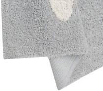 Lorena Canals Kinderteppich Wolken Grey 120 x 160 cm