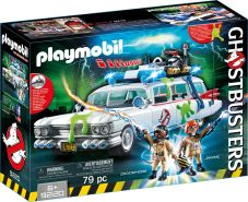 Playmobil Ghostbusters 9220 Ecto-1 mit Licht- und Soundeffekten, Ab 6 Jahren